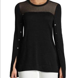 BCBGMAXAZRIA Illusion Sweater